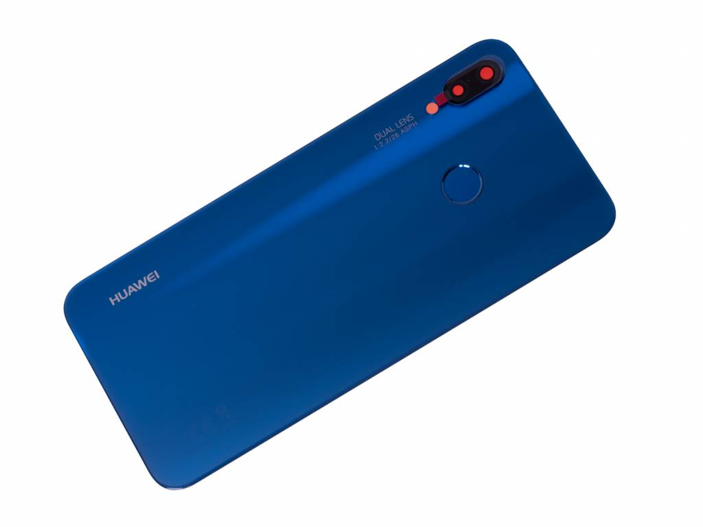 Huawei P20 Lite Dual Sim ANE L20 Akkudeckel , Klein Blue/Blau ...