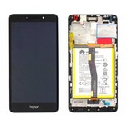 Huawei LCD Display Modul Honor 6X (BLN-L21), Schwarz, 02351BNB