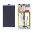Huawei LCD Display Module Honor 6X (BLN-L21), White, 02351ADQ