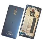 Nokia 6 Dual Sim (TA-1021) Achterbehuizing, Donkerblauw, 20PLELW0016;20PLELW0004;20PLELW0019