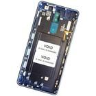 Nokia 8 Dual Sim (TA-1004) Achterbehuizing, Tempered Blue/Blauw, 20NB1LW0019