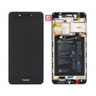 Huawei Honor 6C Dual Sim (DIG-L21HN) LCD Display Module, Grijs, Incl. Battery HB405979ECW, 02351FUV