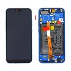 Huawei Honor 10 (COL-L29) LCD Display Module, Sapphire Blue/Blauw, Incl. Battery HB396285ECW, 02351XBP