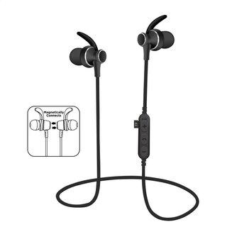 Platinet In-Ear Bluetooth V4.2 + Microsd Oordoppen + Microfoon Pm1060 Zwart [44462]
