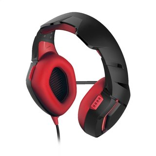 Varr Headset Hi-Fi Stereo Mikrofon Ovh5050 Rot [44419]