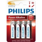 Philips Batterij Alkaline Powerlife Lr06 / AA Bli * 4 (Lr6Pb4C / 10)