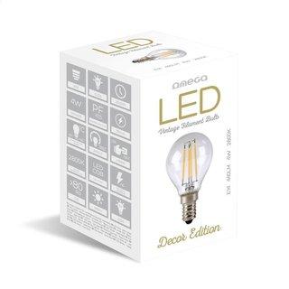 Omega LED-lampgloeidraad E14 2800K 4W