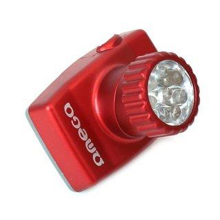 Omega koplamp/Hoofdlamp met 8-LED lampen - 7-M 120Cd
