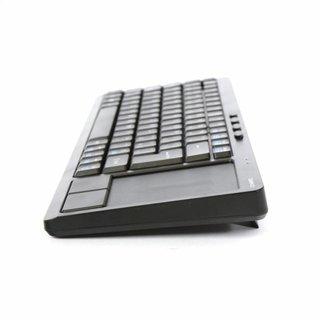 Omega Draadloze toetsenbord met touchpad [CZ] Voor Smart Tv's, Computers & Consoles  Zwart [44422]