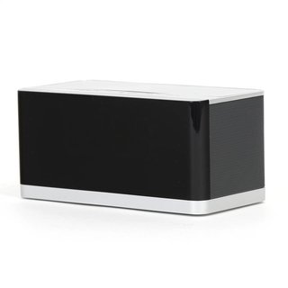 Platina Bluetooth Speaker met ingebouwde digitale Klok & FM 10W [43975]