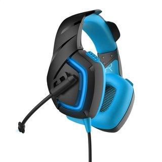 Varr Headset Hi-Fi Stereo Mic Ovh5050 Blue [44418]