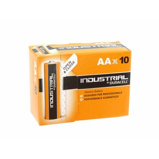 Duracell industriële batterijen Alkaline LR06 / AA MN1500 10 * Pak