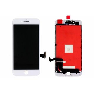 LG DTP & C3F, OEM, LCD Display Modul, Weiß, For iPhone 7 Plus