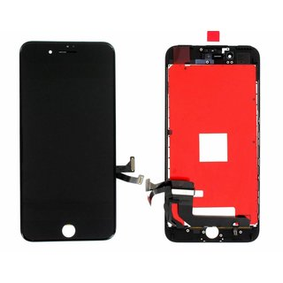 LG DTP & C3F, REFURBISHED, LCD Display Module, Zwart, For iPhone 7 Plus