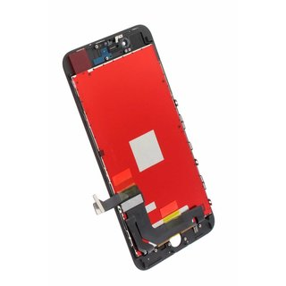 LG DTP & C3F, OEM, LCD Display Modul, Schwarz, For iPhone 8 Plus