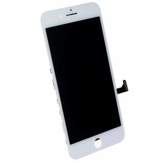LG DTP & C3F, OEM, LCD Display Module, White, For iPhone 8 Plus