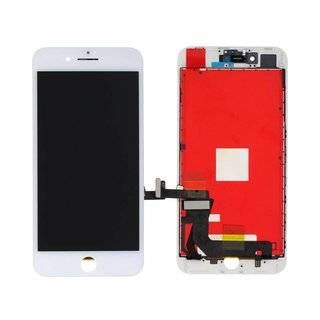 LG DTP & C3F, REFURBISHED, LCD Display Modul, Weiß, For iPhone 8 Plus