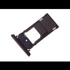 Sony Xperia XZ2 Compact Dual H8324 Sim + Memory Card Tray Holder, Black, 1313-0973