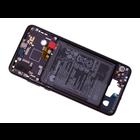 Huawei P20 Dual Sim (EML-L29) Front Cover Frame, Black, 02351VTL;02351WKJ