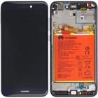 Huawei P8 Lite 2017 (PRA-L21) LCD Display Module, Blue, Incl. Battery, 02351EUV