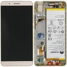 Huawei LCD Display Modul ShotX (ATH-U01), Gold, 02350LCF