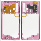 Samsung A920F/DS Galaxy A9 (2018) Middenbehuizing, Bubblegum Pink/Roze, GH96-12294C