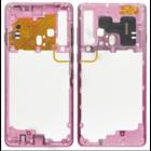Samsung A920F/DS Galaxy A9 (2018) Mittel Gehäuse, Bubblegum Pink/Roze, GH96-12294C
