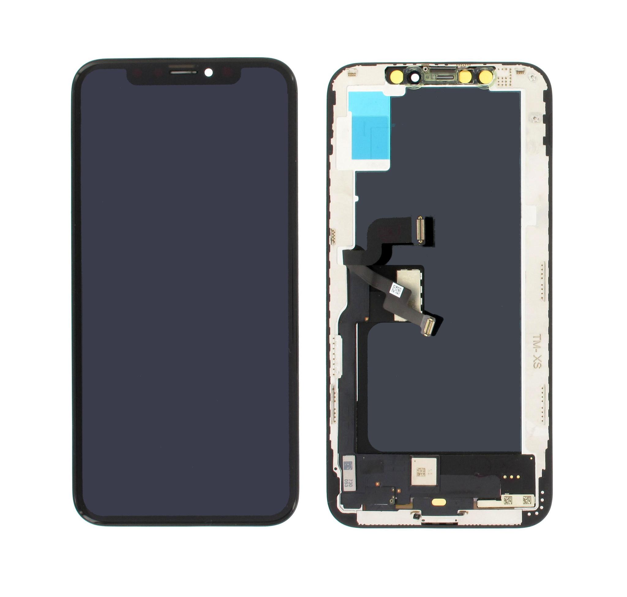 LCD Display Module, OEM, Zwart, Geschikt Voor Apple iPhone Xs
