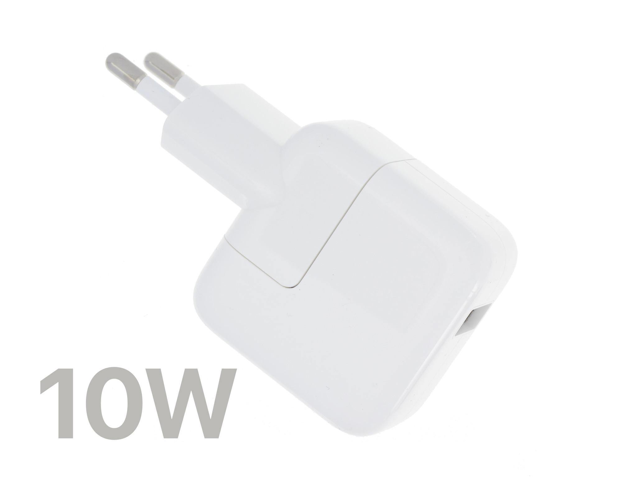 USB-Ladegerät Kompatibel Mit Dem Apple iPad, iPhone | 5.1V, 2.1A, 10W