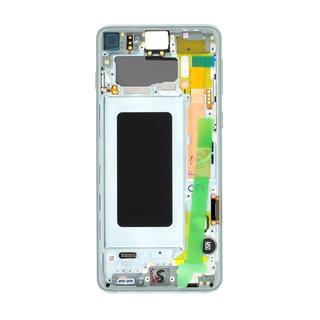 Samsung G973F Galaxy S10 LCD Display Module, Prism Green, GH82-18850E;GH82-18835E