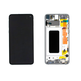 Samsung G970F Galaxy S10e LCD Display Module, Prism White/Wit, GH82-18852B