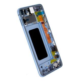 Samsung G970F Galaxy S10e LCD Display Modul, Prism Blue/Blau, GH82-18852C