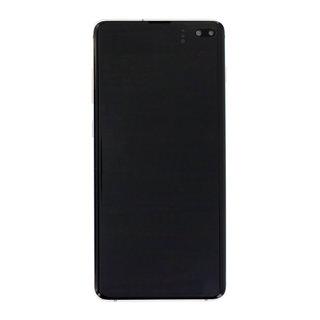 Samsung G975F Galaxy S10+ LCD Display Modul, Ceramic White/Weiß, GH82-18849J