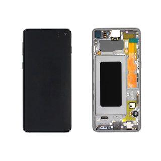 Samsung G973F Galaxy S10 LCD Display Module, Prism Black, GH82-18850A;GH82-18835A