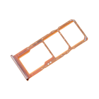 Samsung A705F/DS Galaxy A70 Sim- + Geheugenkaart Houder, Coral/Oranje, GH98-44196D