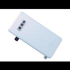 Samsung G970F Galaxy S10e Battery Cover, Prism White, GH82-18452F
