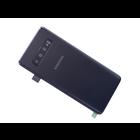 Samsung G973F Galaxy S10 Accudeksel, Prism Black/Zwart, GH82-18378A