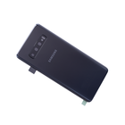 Samsung G973F Galaxy S10 Battery Cover, Prism Black, GH82-18378A