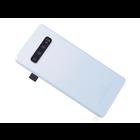 Samsung G973F Galaxy S10 Akkudeckel , Prism White/Weiß, GH82-18378F