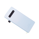Samsung G973F Galaxy S10 Battery Cover, Prism White, GH82-18378F