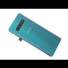 Samsung G975F Galaxy S10+ Akkudeckel , Grün, GH82-18406E