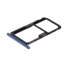 Huawei Mate 20 lite (SNE-LX1) Sim- + Geheugenkaart Houder, Sapphire Blue/Blauw, 51661KAW