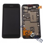 Nokia LCD Display Module Lumia 530, Black, 00812S6