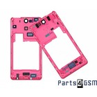 Sony Middle Cover Xperia V LT25i, Pink, 1268-4324