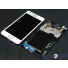 Samsung Galaxy S II i9100G Internal Screen + Digitizer Touch Panel Outer Glass + Frame White GH97-12354B [EOL]