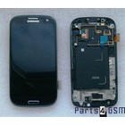 Samsung Galaxy S3 / S III i9300 Internal Screen + Digitizer Touch Panel Outer Glass + Frame Black GH97-13630E