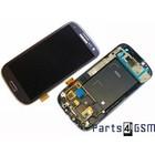 Samsung Galaxy S4 I9500 Lcd+ Touchscreen + Frame Zwart GH97-14630B4/3