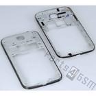 Samsung Middenbehuizing I9505 Galaxy S4, Deep Black, GH98-26374C