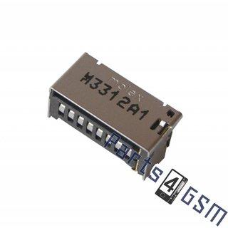 Samsung S6310 Galaxy Young MicroSD Card Reader Connector, 3709-001786