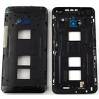 HTC One Dual Sim (M7 802w) Middenbehuizing, Zwart 74H02463-00M